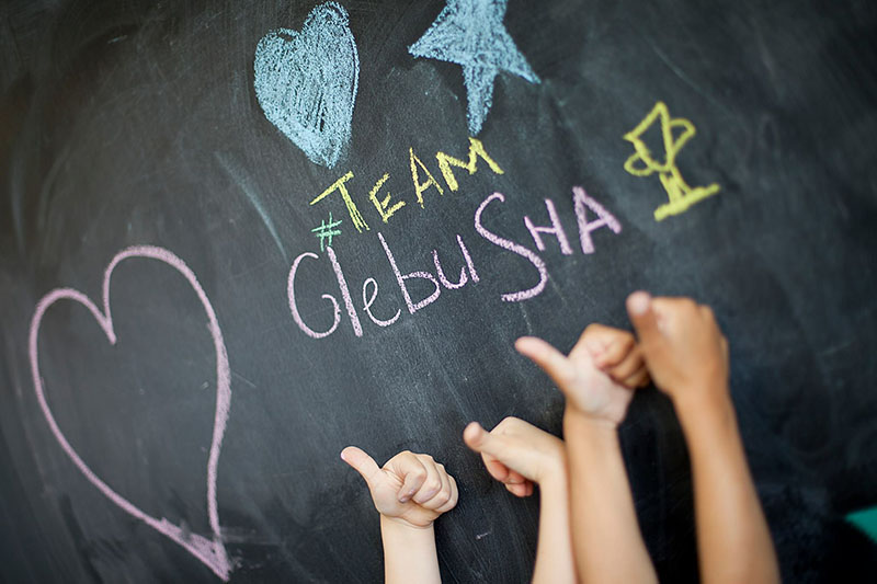 #Team Glebusha